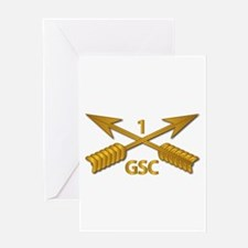 GSC - 1st SFG Branch wo Txt Greeting Card