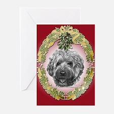 Wheaten Terrier Christmas Greeting Cards (Pk of 20