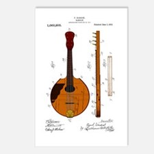 Mandolin Patent Postcards (Package of 8)