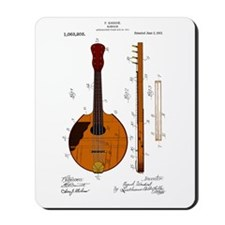 Mandolin Patent Mousepad