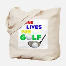 Celine Lives for Golf - Tote Bag