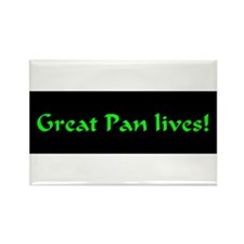 Great Pan Lives! Rectangle Magnet (100 pack)