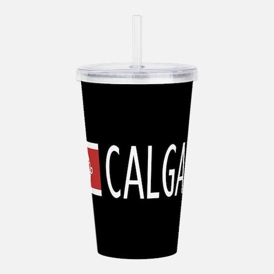 Calgary: Calgarian Fla Acrylic Double-wall Tumbler