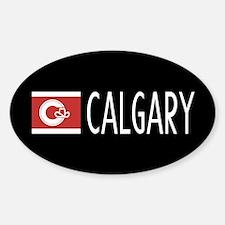 Calgary: Calgarian Flag & Calgary Decal