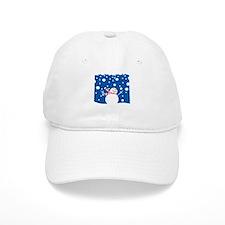 Holiday Snowman Baseball Cap