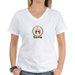 GERVAIS Family Crest Women's V-Neck T-Shirt