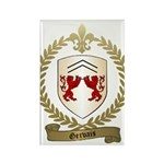 GERVAIS Family Crest Rectangle Magnet (100 pack)