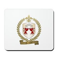 GERVAIS Family Crest Mousepad