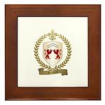 GERVAIS Family Crest Framed Tile