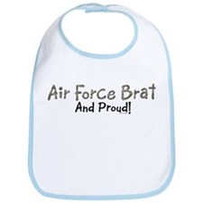 Proud Air Force Brat Bib