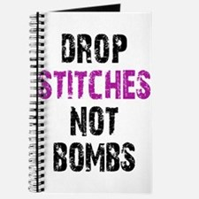 Drop Stitches not Bombs Journal