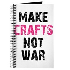 Make Crafts Not War Journal
