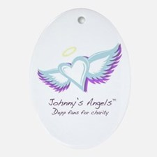 Johnny's Angels Oval Ornament 2008