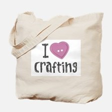 Cute Craftster Tote Bag