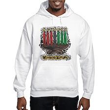 Kwanzaa Candles Hoodie