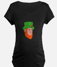 Leprechaun Head Three Quarter View Drawing Materni