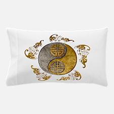Harvest Moons Bats Yin Yang Pillow Case