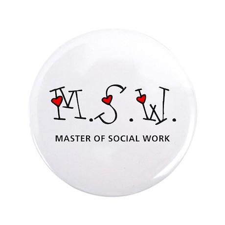 "MSW Hearts (Design 2) 3.5"" Button"