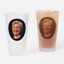 Cute Hillary clinton for president Drinking Glass
