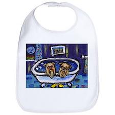 BRUSSELS GRIFFON bath Design Bib