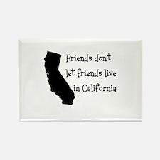 FRIENDS DON'T LET FRIENDS LIV Rectangle Magnet