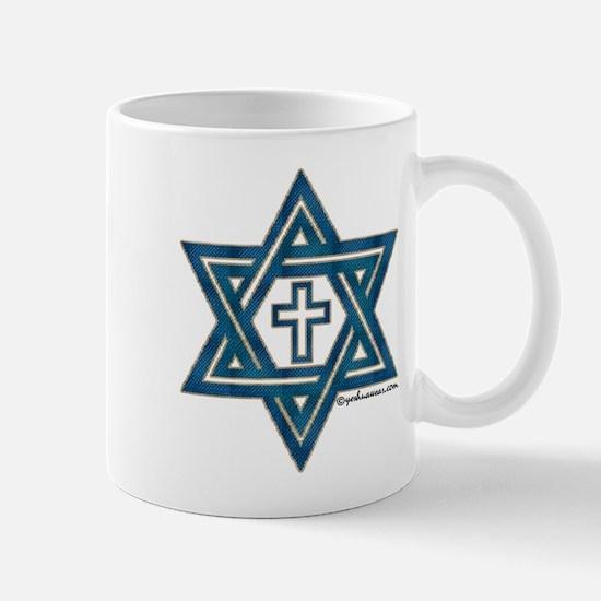 Star Of David & Cross Mug