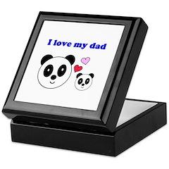 I LOVE MY DAD Keepsake Box