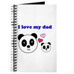 I LOVE MY DAD Journal