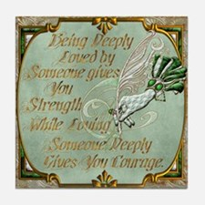 Harvest Moons Love & Courage Tile Coaster