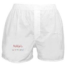 Ashlyn's Up To No Good Boxer Shorts