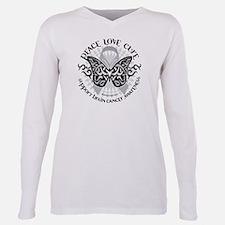 Brain Cancer Butterfly Tribal T-Shirt