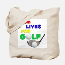Dasia Lives for Golf - Tote Bag