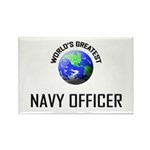 World's Greatest NAVY FORCES OFFICER Rectangle Mag