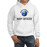 World's Greatest NAVY FORCES OFFICER Hooded Sweats
