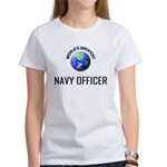World's Greatest NAVY FORCES OFFICER Women's T-Shi