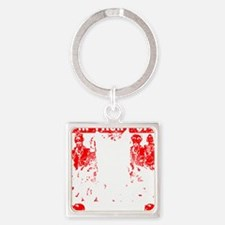 Cute Save Square Keychain