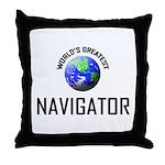 World's Greatest NASOLOGIST Throw Pillow