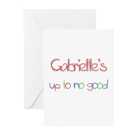 Gabrielle's Up To No Good Greeting Cards (Pk of 1