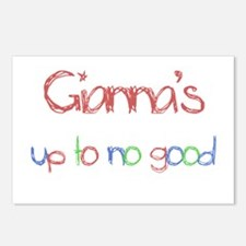 Gianna's Up To No Good Postcards (Package of 8)