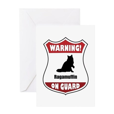 Ragamuffin On Guard Greeting Card