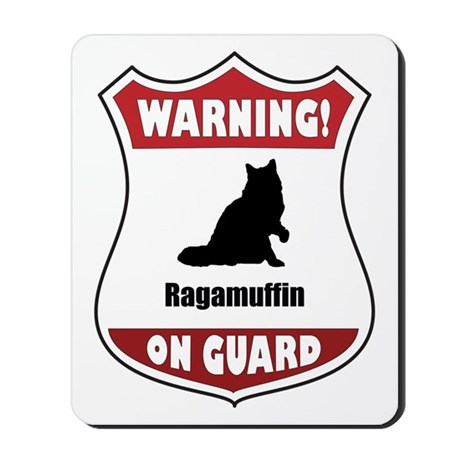 Ragamuffin On Guard Mousepad