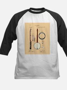 Banjo Patent Kids Baseball Jersey