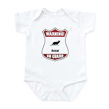 Ocicat On Guard Infant Bodysuit