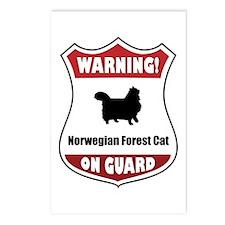 Wegie On Guard Postcards (Package of 8)
