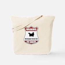 Wegie On Guard Tote Bag