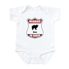 Manx On Guard Infant Bodysuit