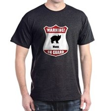Manx On Guard T-Shirt