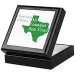 Grandpa's From Texas Keepsake Box