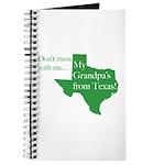 Grandpa's From Texas Journal