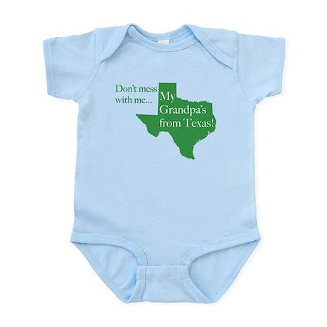 Grandpa's From Texas Infant Bodysuit